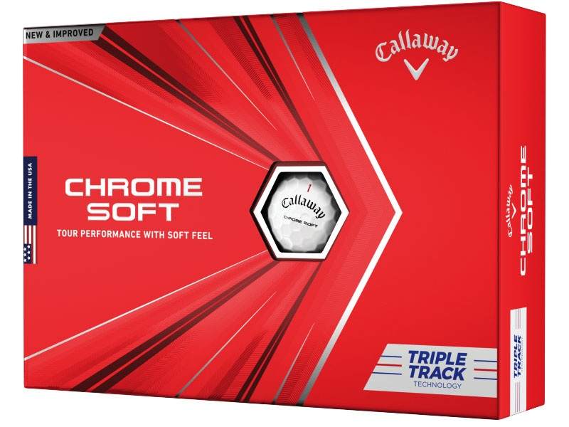 Callaway Golf Chrome Soft White Triple Track Buy 3 Get 1 Free