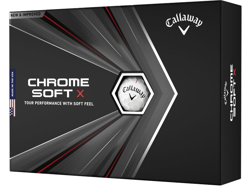 Callaway Golf Chrome Soft X Buy 3 Get 1 Free