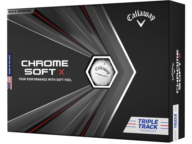Callaway Golf Chrome Soft X White Triple Track Buy 3 Get 1 Free