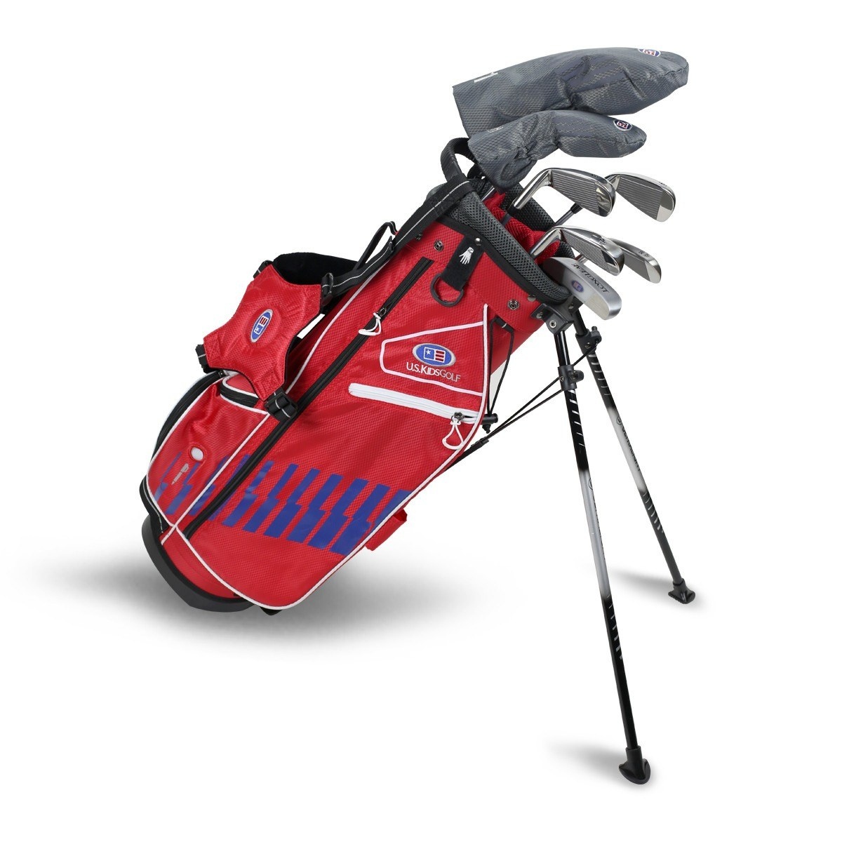Right Hand UL54-s 7 Club DV3 Stand Set, Red/Blue/White Bag